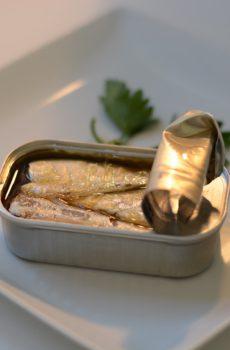 Conservas productos del mar